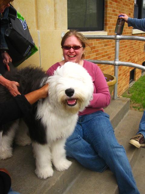 Hanna & her puppy