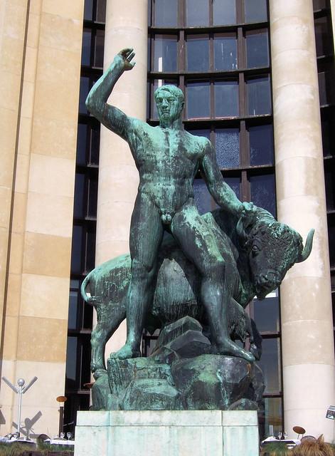 Upload Image On Google >> Theseus And The Minotaur Statue, Trocadero, Paris. | Flickr - Photo Sharing!