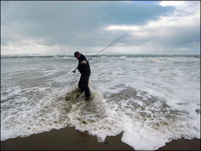Surf fishing yahats flickr photo sharing for Surf perch fishing oregon