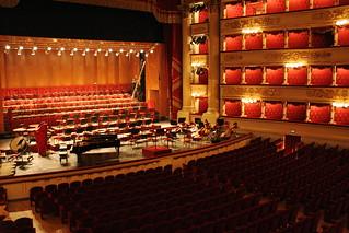 Il palcoscenico della Scala
