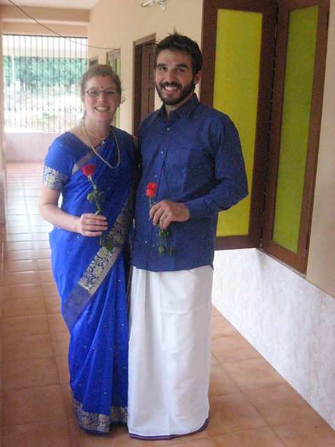 Sari And Dhoti
