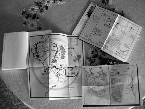 maps of Tolkien world