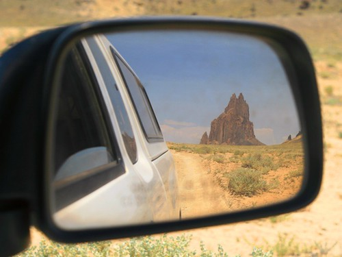 Leaving the Shiprock