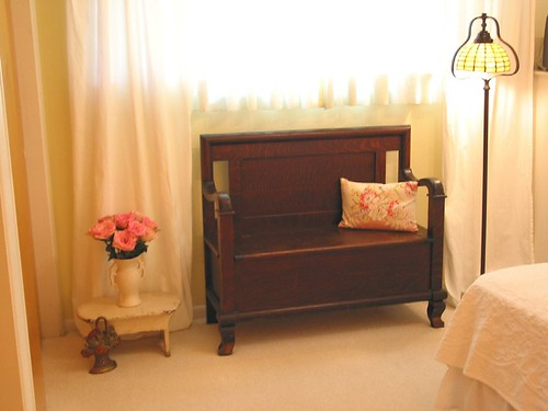 Bedroom Corner ~ Deacon's Bench