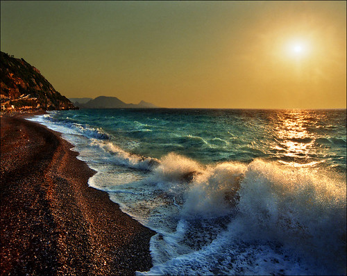 travel light sunset sea summer sky sun seascape mountains film beach nature water sunrise landscape island greek photography coast mar nikon europe mediterranean waves peace shadows darkness image dream hellas paisaje greece pro paysage rodos rhodes priroda seafoam rhodos grcka tájkép rodhos pejzaž katarinastefanovic katarina2353 gettylicense