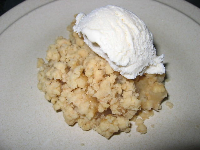 Homemade apple crumble recipe   Flickr - Photo Sharing!