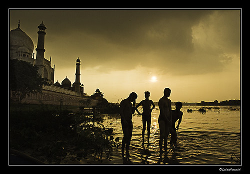 sunset india asia tajmahal agra explore 145 photographia nikond80 luisapuccini sep0608