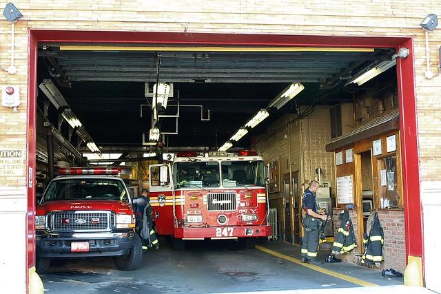 Ny Car Show >> E247 FDNY Firehouse Engine 247 & Battalion 40, Borough Park, Brooklyn, New York City | Flickr ...