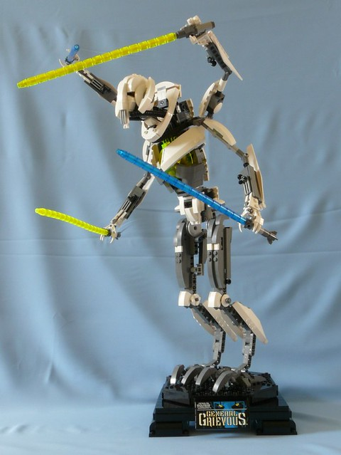 Star Wars Lego 10186 General Grievous 03 - a photo on ...