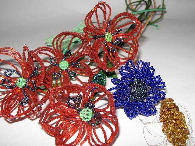 Beaded Wedding Bouquet - Instructables - Make, How To, and DIY