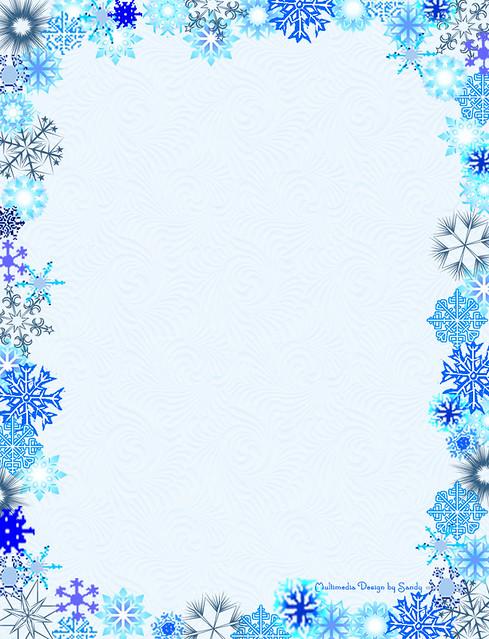 Printable Snowflake Invitations was Perfect Design To Create Beautiful Invitations Card