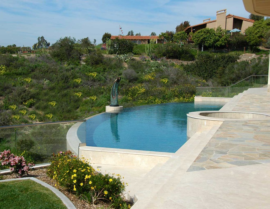David reed landscape architects blog archive rancho for Pool design hillside