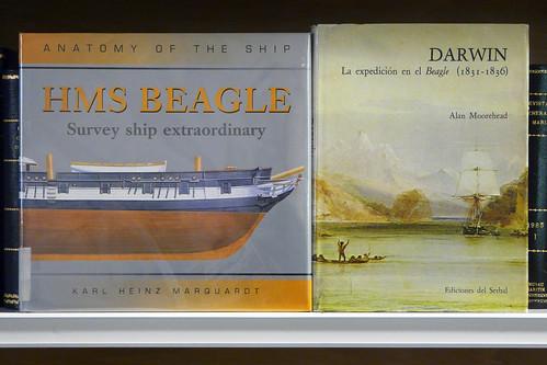 Beagle and Darwin. Biblioteca del Museu Marítim