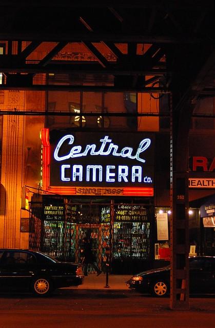Central Camera (1899), Wabash Ave., Chicago, 2009