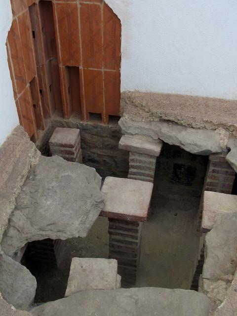 Restored Bath House, Segedunum