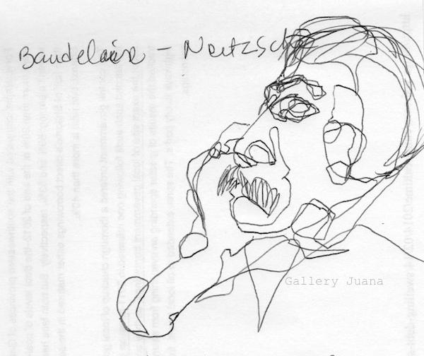 Nietzsche sketch