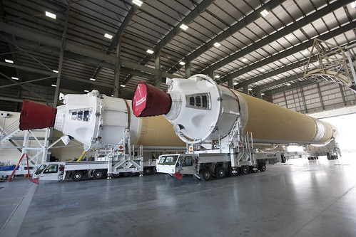 Boosters inside the Horizontal Integration Facility