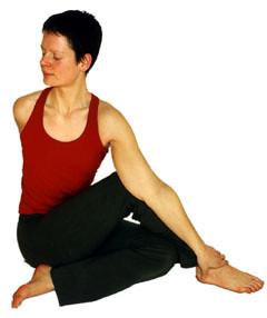 17 Matsendrasana, der Yoga Drehsitz
