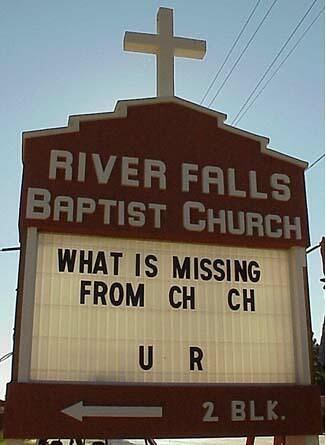 2404952920 7e4bbfc449 Funny Church Signs