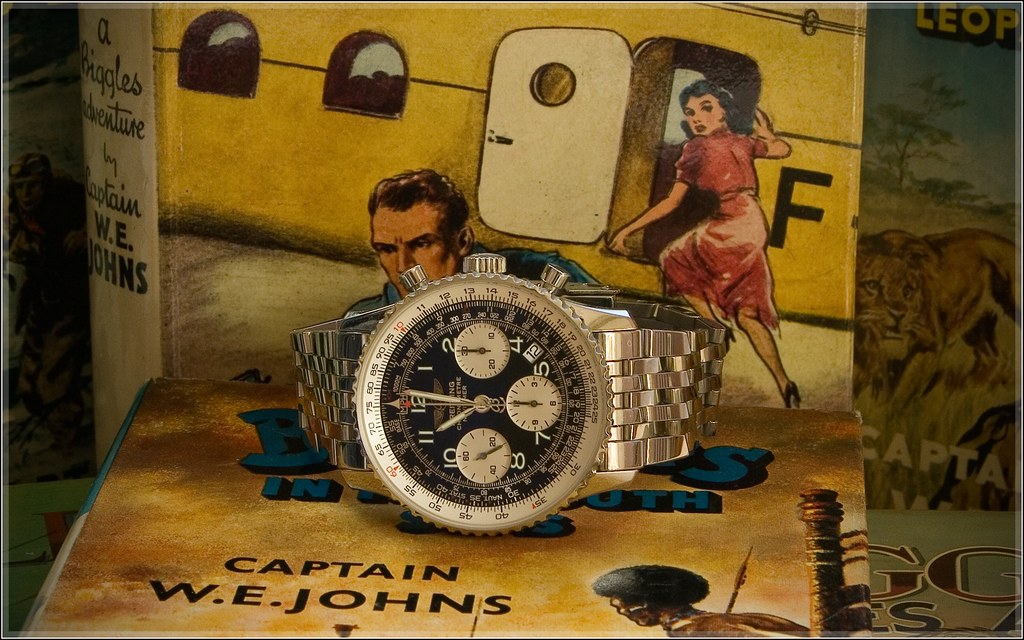 Biggles and The Breitling Navitimer by BeastmasterNo2