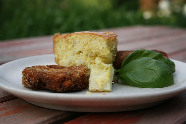 asparagus-souffle with greenbean-potato rissole | Flickr - Photo ...