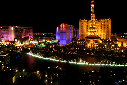 View from our room at the Bellagio by Iris Donovan, on Flickr