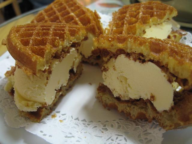 Ice Cream Waffle Sandwich | Flickr - Photo Sharing!