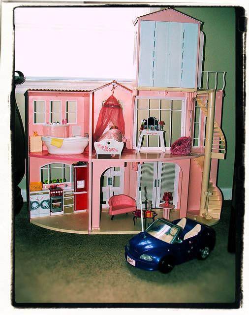 Barbie Dream House Kitchen Set Light Amp