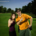 Jenny the Photo Intern & Adam on Location - Golf Course Scottsdale, AZ