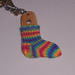 The last Sock Keychain