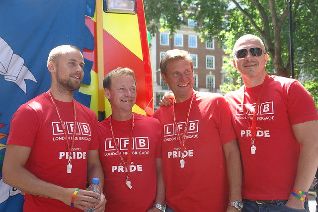 London Gay Firemen. And how do they compare with their French colleagues?