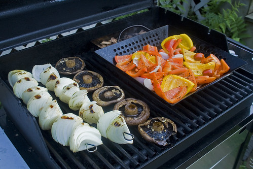 Grilling for vegetarians is easy with a few precautions