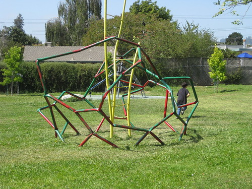 Great equipment – but do children play on it?