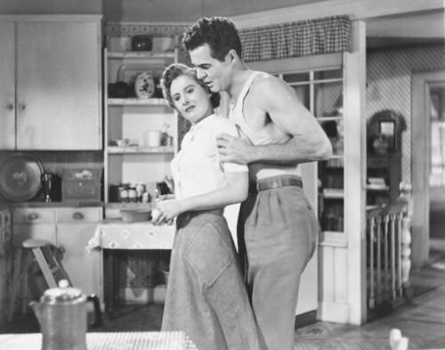 Barbara Stanwyck and Robert Ryan - Clash By Night 1952