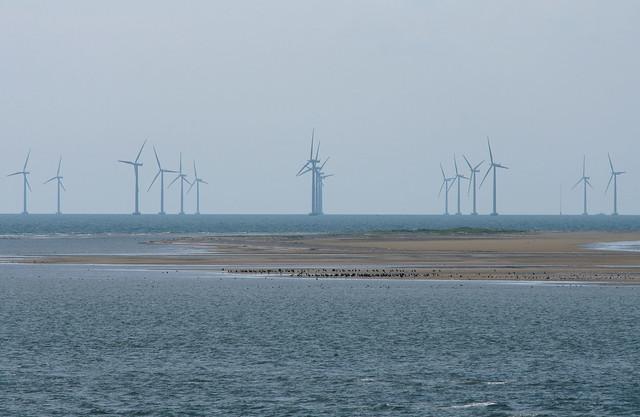 Offshore-Windpark bei Gedser