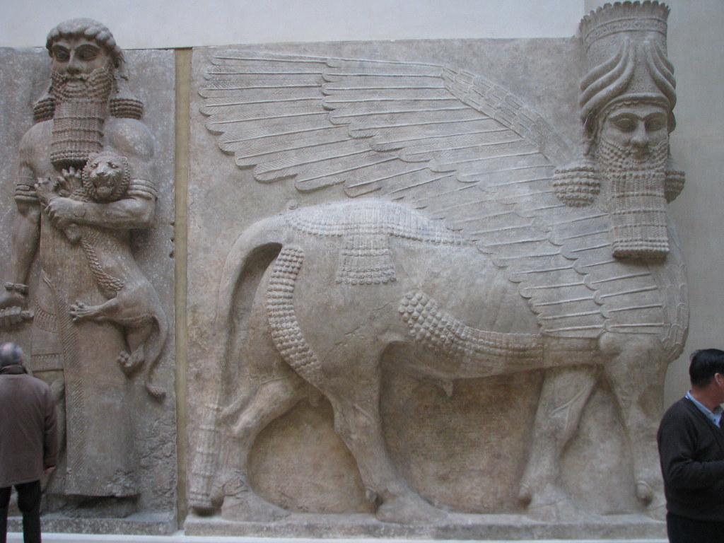 Assyrian art in the Louvre