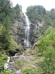 waterfall in Sonogno