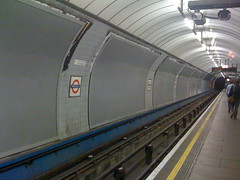 Ad-free tube station