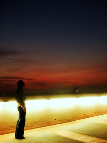 park roof sunset portrait sky rooftop me car self john lights lyrics leicester lewis 40 lamps highcross 365days explored