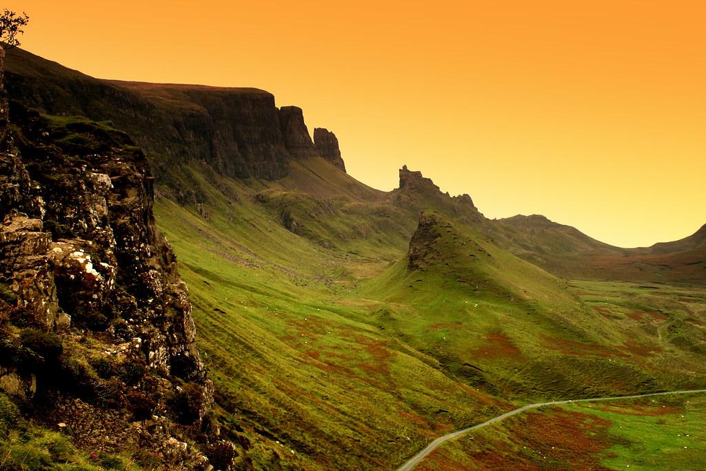 Белоснежка и охотник Шотландия