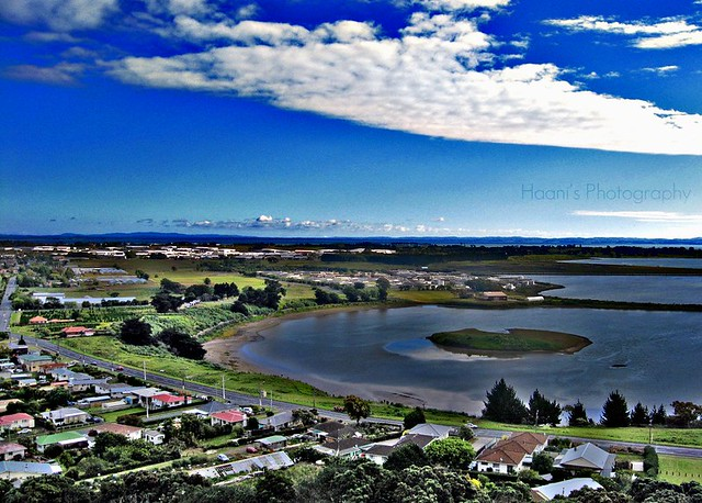 View from Mangere Mountain
