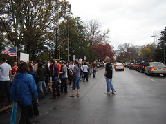 1400 people lined around the block.