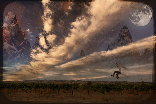 The Initiation of my Flight to the Purple Mountains Beyond Sonoma Mountain