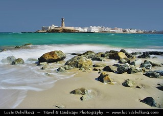 Oman - Sur's Rocky Beach and its Lighthouse