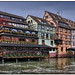 Timber-framed houses in Petite France, Strasbourg by Mike G. K.