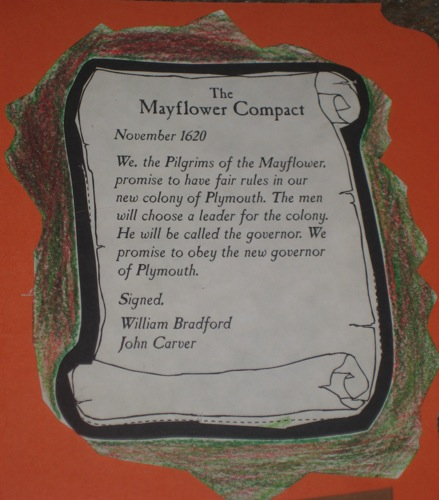 Mayflower compact date