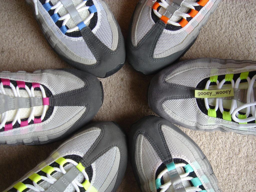 ... Nike Air Max 95 - My Grey Set - Neon ( 01    03 bc1bb52f2882