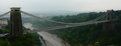 Clifton Bridge from Above
