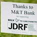 JDRF Thanks To: M&T Bank