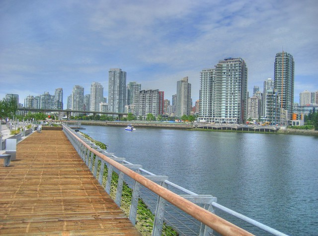New False Creek Seawall